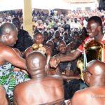 Asante Kotoko present President Cup to owner and Life Patron Otumfuo Osei Tutu II