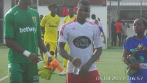 WAFA striker Daniel Lomotey elated to make international debut