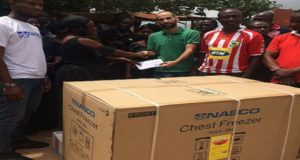 NASCO Limited donates to widow of late Kotoko Equipment Officer