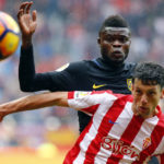 Thomas Partey impresses in Atletico Madrid's pre-season friendly with Diez