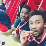 Samuel Tetteh wishes friend and teammate Lawrence Ati well at new club Sochaux