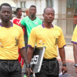 Referee Abdul Latif Adaari and his assistants rescued from irate Tema fans