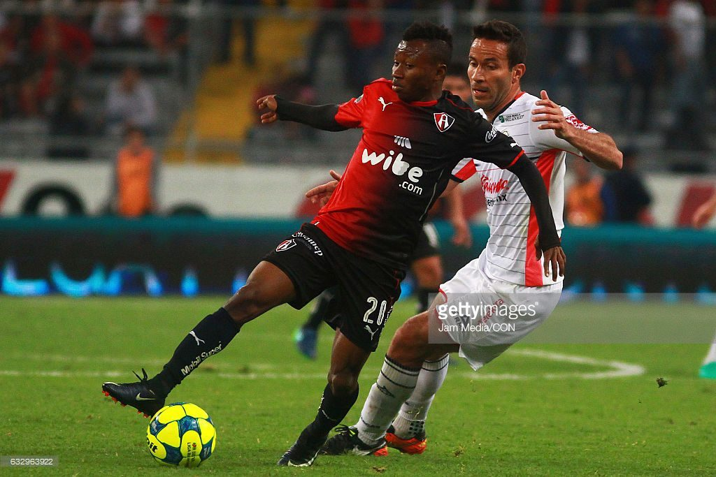 Clifford Aboagye stars in Atlas FC defeat to America in Mexican league