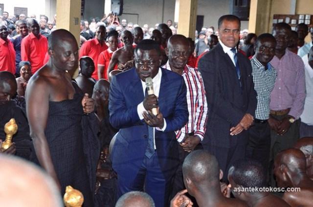 Kotoko CEO Dr. Kyei visits Black Stars B in Burkina Faso ahead of CHAN qualifier