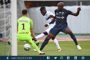 In-form Ebenezer Assifuah scores as Le Havre beat Paris FC