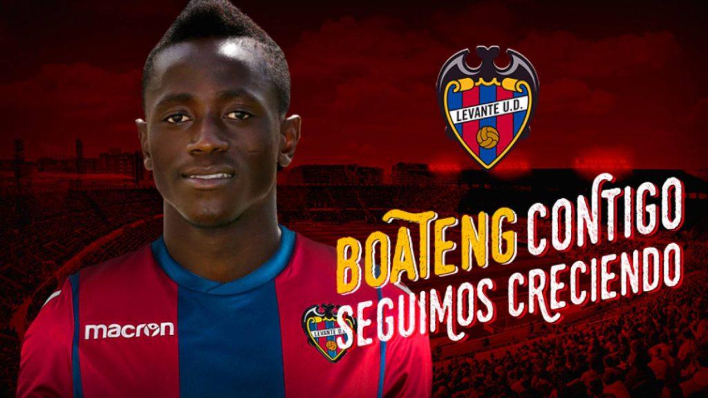 Confirmed: Emmanuel Boateng signs for Spanish La Liga side Levante