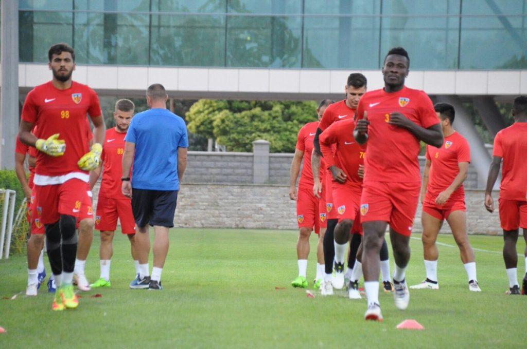 Asamoah Gyan in line for Kayserispor league debut tonight