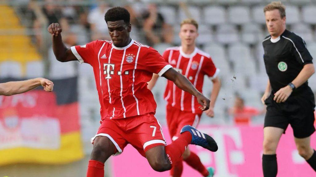 Ghanaian forward Kwasi Okyere nets twice on Bayern Munich II debut 3-2 win over VfB Eichstatt