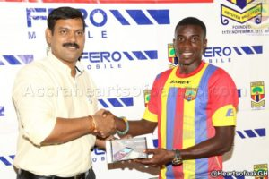 Thomas Abbey named Hearts player for the month of July