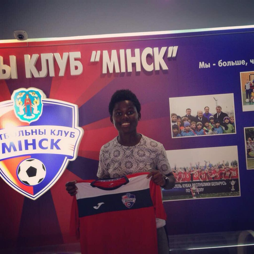 Former Black Maidens star Ernestina Abambila signs first professional contract with Belarusian side FC Minsk