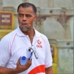 VIDEO: Kotoko coach Steve Pollack slams referee for awarding his team a dubious penalty against NEA Salamina