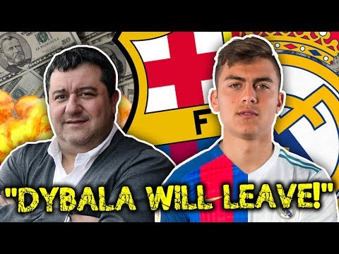 "Raiola: ""Paulo Dybala Will Leave Juventus For Madrid Or Barcelona!"" 