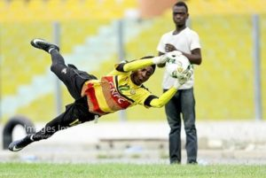 Felix Annan shares how he was converted from a striker to goalkeeper