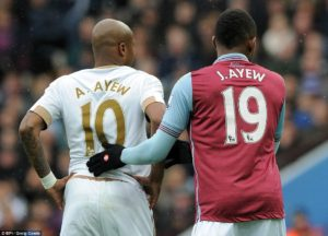Rahim Ayew hopes to see Andre and Rahim Ayew play together in Premier League again