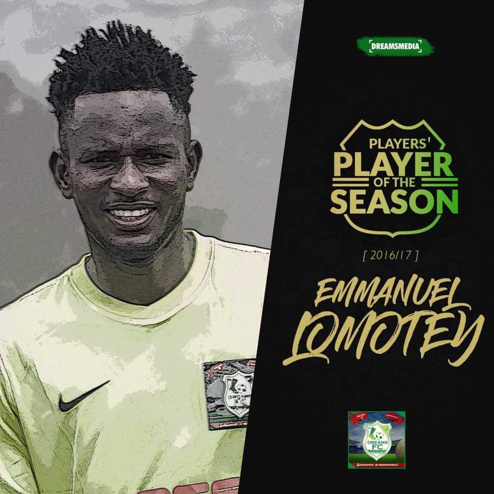 Dreams FC midfielder Emmanuel Lomotey joins Spanish Segunda B side Extremadura UD