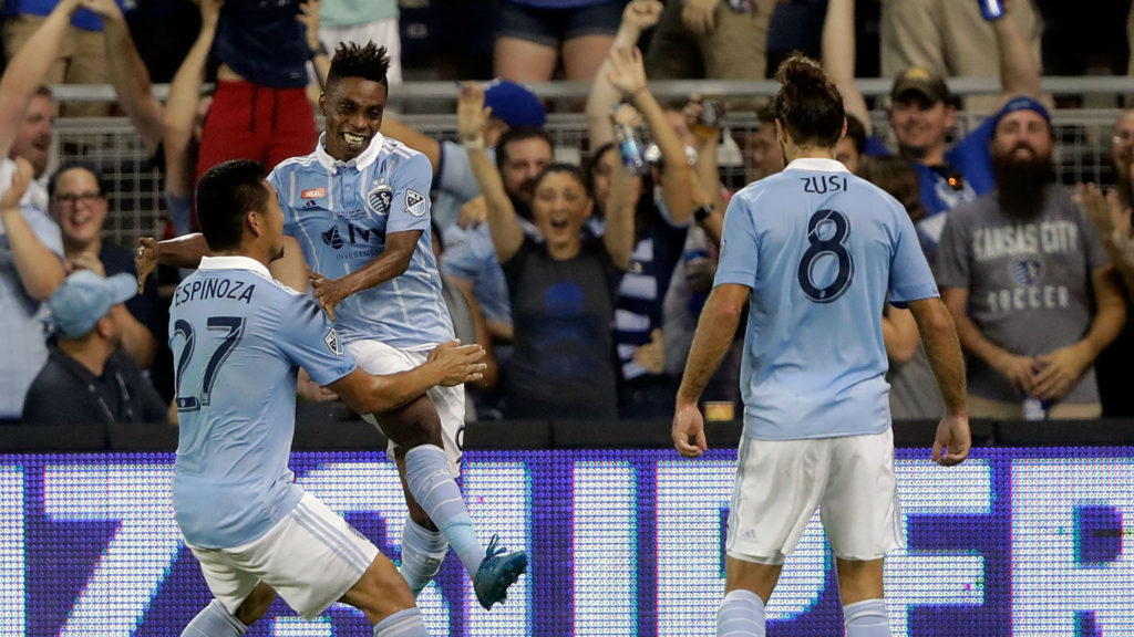 Video: Latif Blessing scores as Sporting Kansas City lift 4th US Open Cup