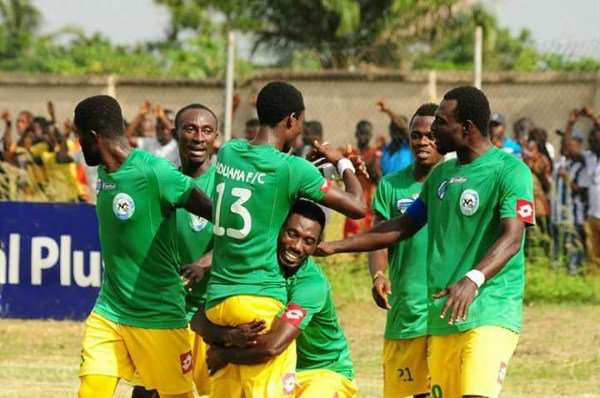 MATCH REPORT: Aduana Stars edge closer to title after a thumping 4-1 win over Bolga All Stars