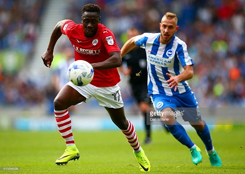 Andy Yiadom returns to full fitness ahead of Middlesbrough clash
