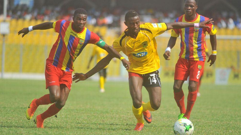 MTN FA CUP: Kotoko thump Hearts 3-1 to win FA Cup