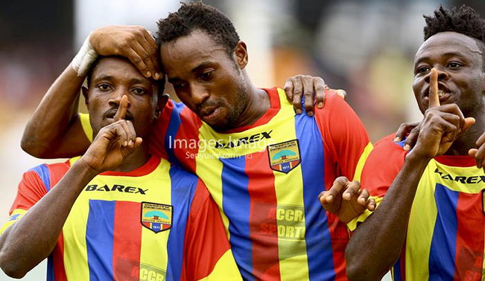 MATCH REPORT: Hearts beat stubborn Dwarfs in Accra