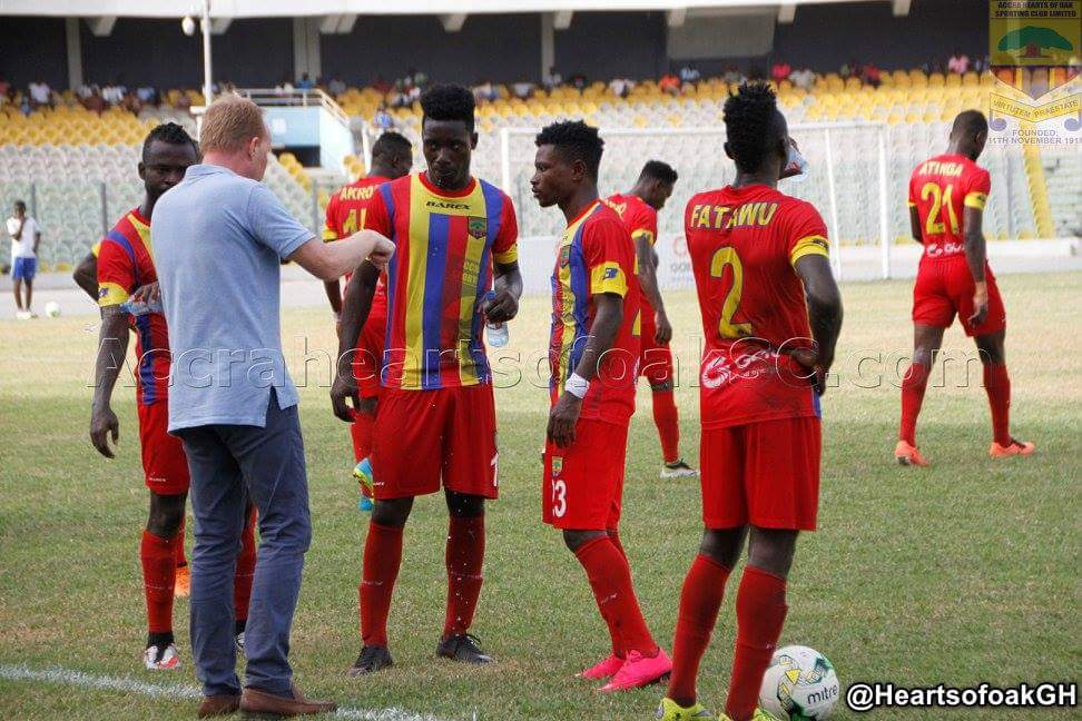 Match Report: Hearts fall to Medeama in narrow 1-0 loss