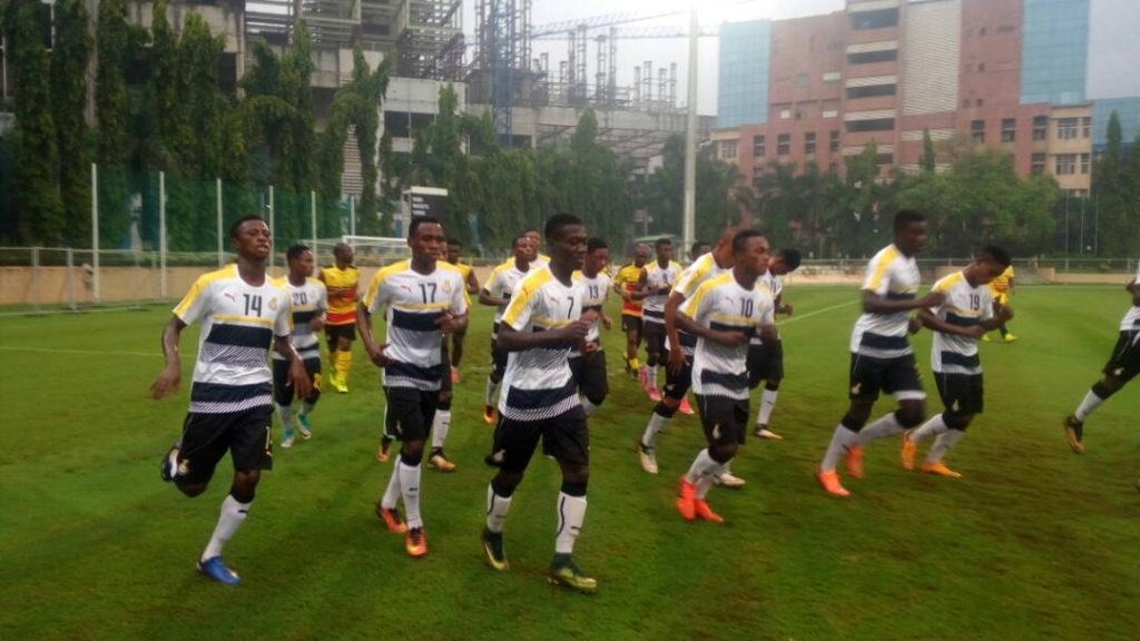 VIDEO: Black starlets hold first training in Mumbai ahead of R16 duel