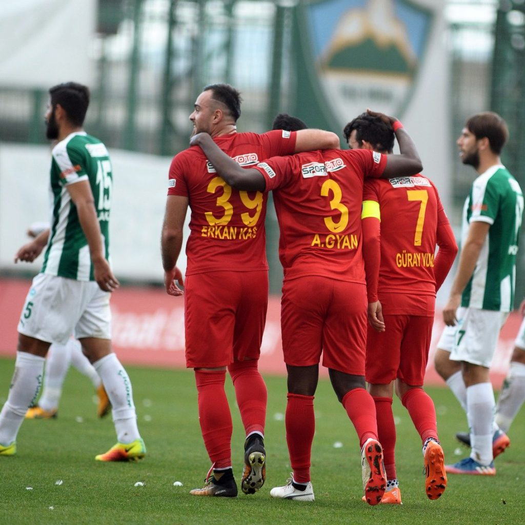 VIDEO: Asamoah Gyan's late strike hands Kayserispor a vital point away to Fenerbahce