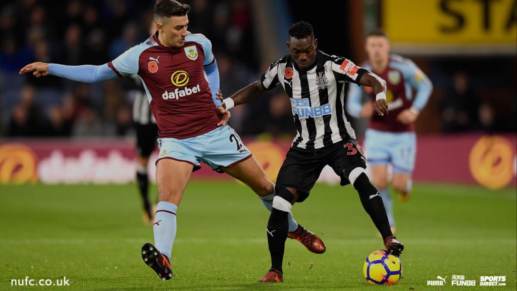 Christian Atsu's Newcastle suffer narrow 1-0 defeat to Burnley