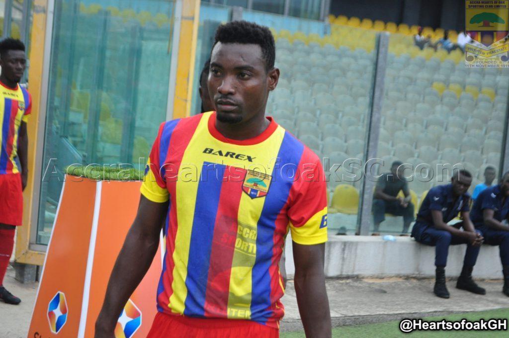 Hearts defender Joshua Otoo happy to make injury return