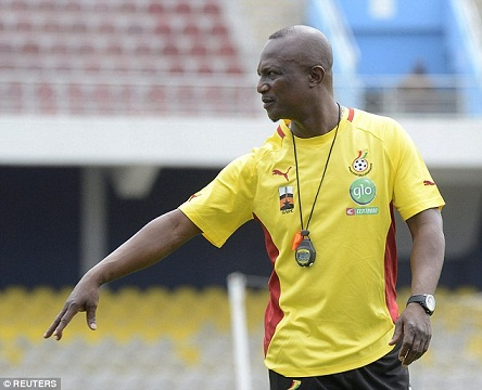 Ghana coach Kwesi Appiah wary of Guinea-Bissau and Benin threats after AFCON draw