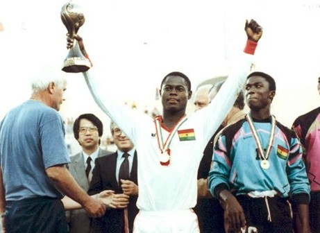 Former Ghana U-17 World Cup winner Nii Odartey Lamptey insists Black  Starlets play to impress scouts - Footballghana