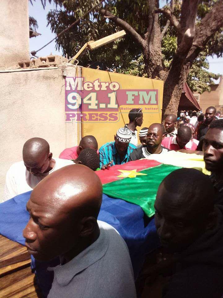 Ex- Hearts and Kotoko goalkeeper Soulama Abdoulaye buried on Sunday in Burkina Faso