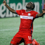 David Accam to lead Chicago Fire in MLS playoff game with NY Red Bulls
