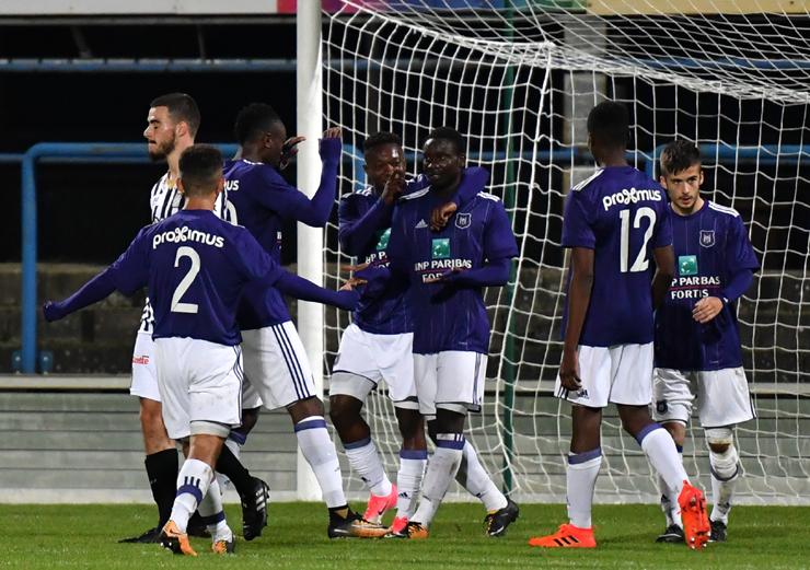 Dauda Mohammed making waves in Belgium, scores a hattrick for Anderlecht U21 in heavy win over Sporting Charleroi