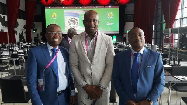 George Afriyie lauds Kwasi Nyantakyi for new CAF top appointment