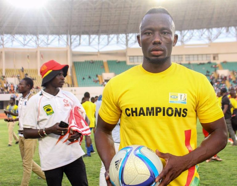 Saddick Adams says he knew of his hat-trick before the final against Hearts