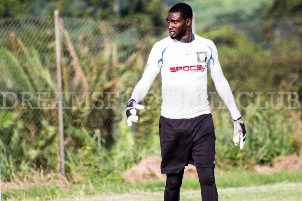 Former Dreams FC goalkeeper Mozart Adjetey denies reports linking him to Hearts