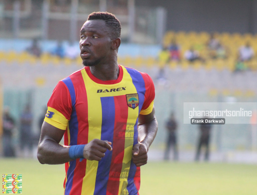 Hearts defender Vincent Atinga to join FK Austria Vienna