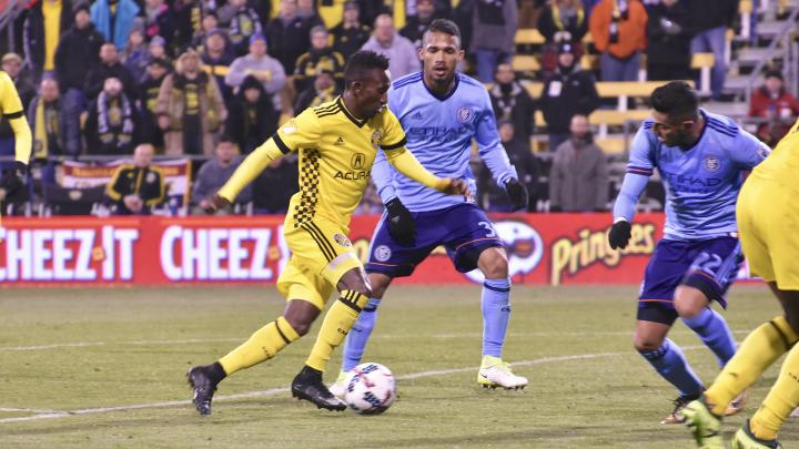 VIDEO: Watch Harrison Afful's stupendous goal in Crew's 4-1 win over New York City FC