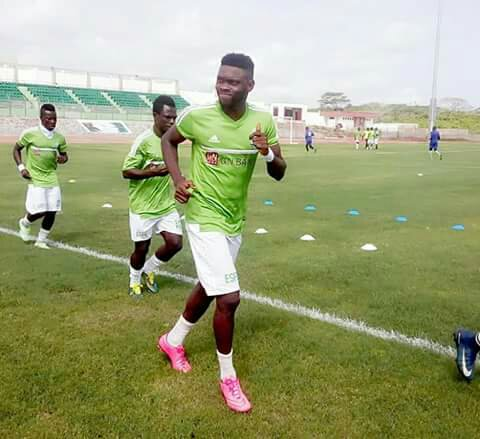 Elmina Sharks player Farouk Mohammed satisfied with their debut campaign