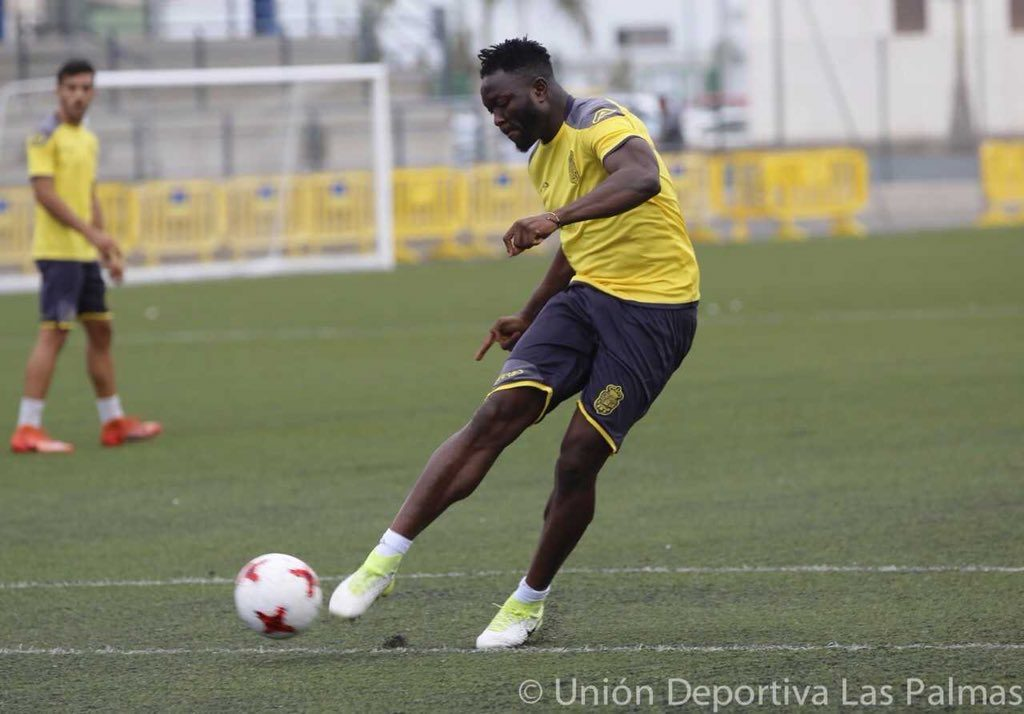 Muniru Sulley having trials with Spanish side Las Palmas