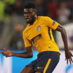 Thomas Partey plays in Atlético Madrid friendly win