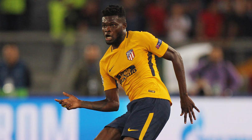 Thomas Partey plays in Atlético Madrid friendly win