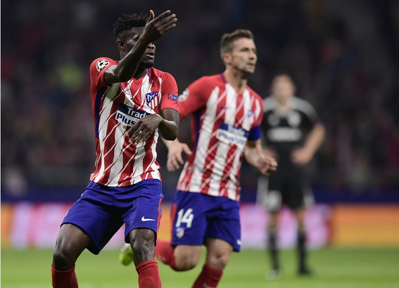 Shocking statistic reveals why Thomas Partey's Atletico Madrid are struggling in the Champions League