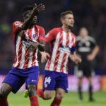 Thomas Partey applauds Diego Simeone for recent fine form