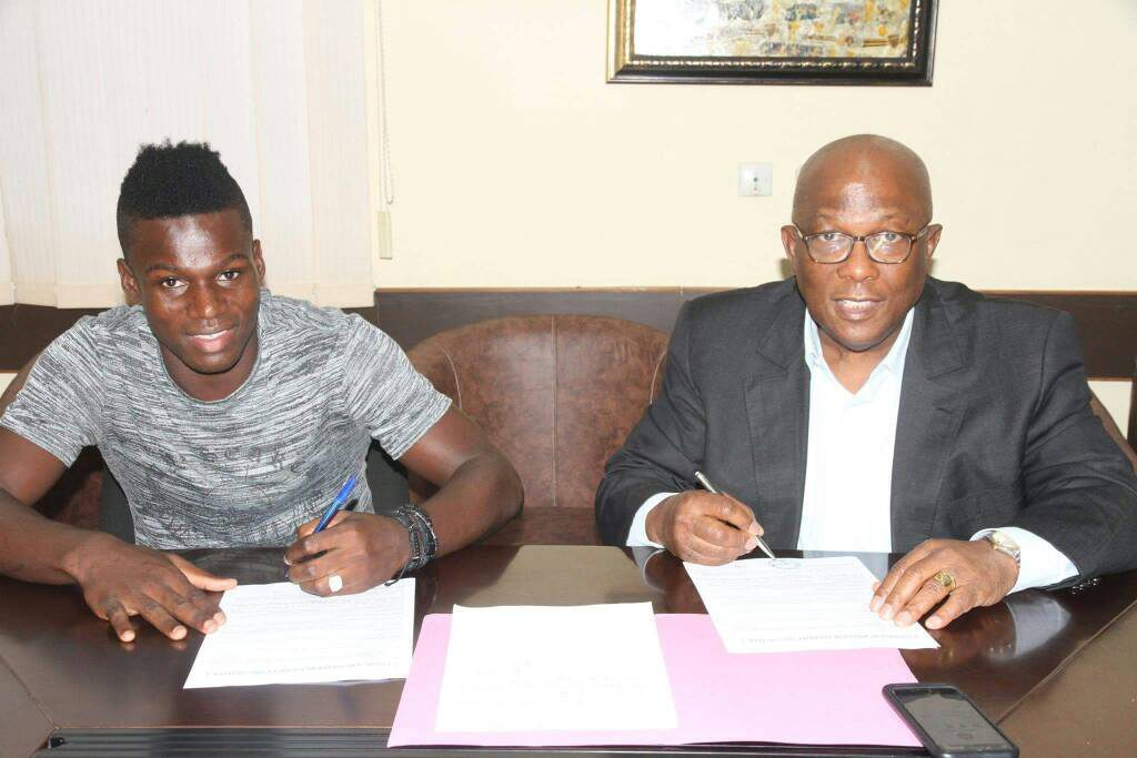 Ahmed Toure joins Ivorian giants Asec Mimosa on a two year deal