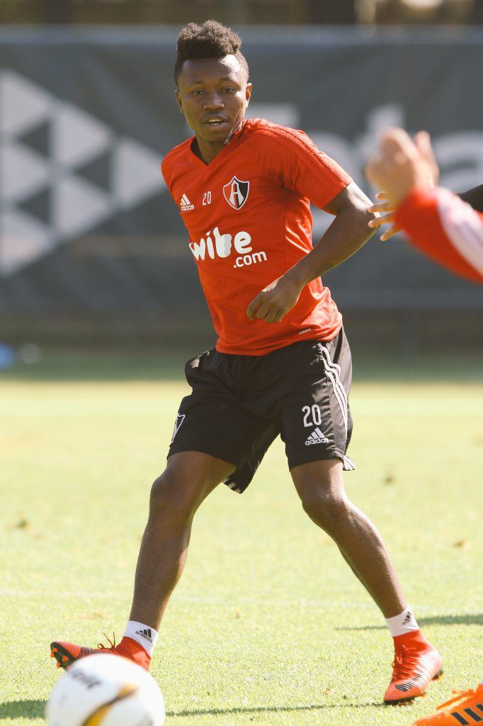 Fit again Clifford Aboagye returns to full scale training with Mexican side Atlas FC