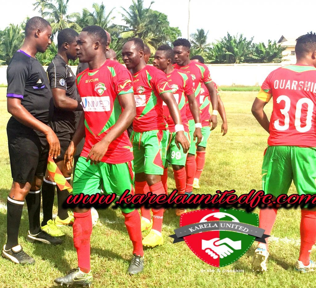 Newly promoted Ghana Premier League side Karela FC begins preparation for G8 with 5-0 thrashing of Axim United