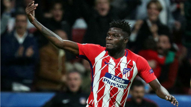 VIDEO: Thomas Partey scores amazing goal in training