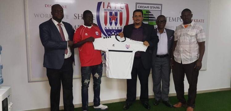 Inter Allies unveil new signing Nigerien star Victorien Adebayor